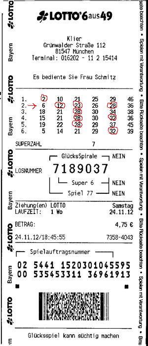 Loto 6/49 Germania Rezultate