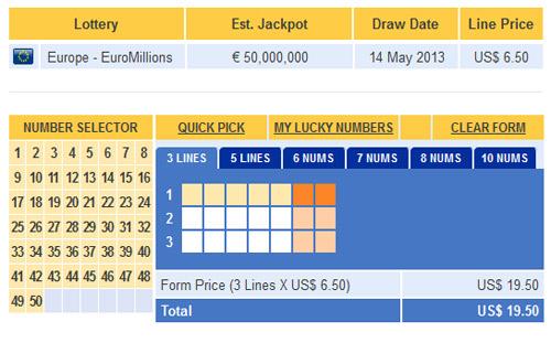 Euromillions 14 Mai