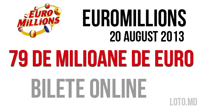 Euromillions 20 August