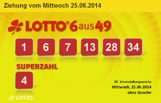Rezultate Loto 6 49 Germania