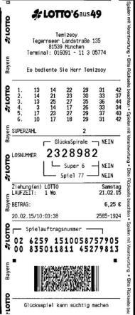 loto germania 649